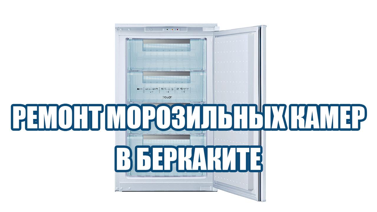 Ремонт морозильных камер в беркаките